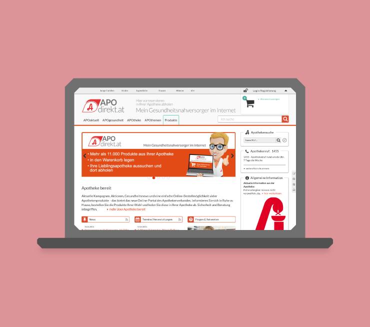 apodirekt – Mein Gesundheitsnahversorger im Internet