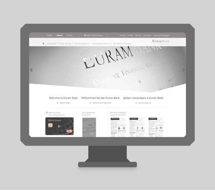 Euram Bank – Relaunch