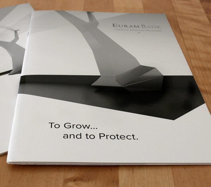 Euram Bank Broschüre